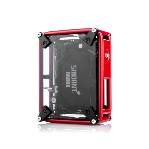 Smoant Rabox 100W Smart Mechanical Box Mod, red. The Village Vaporette.