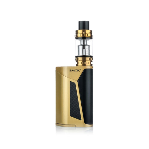 SMOK GX350 quad battery kit, silver. The Village Vaporette.