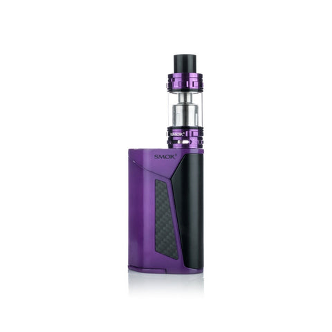 SMOK GX350 quad battery kit, purple. The Village Vaporette.