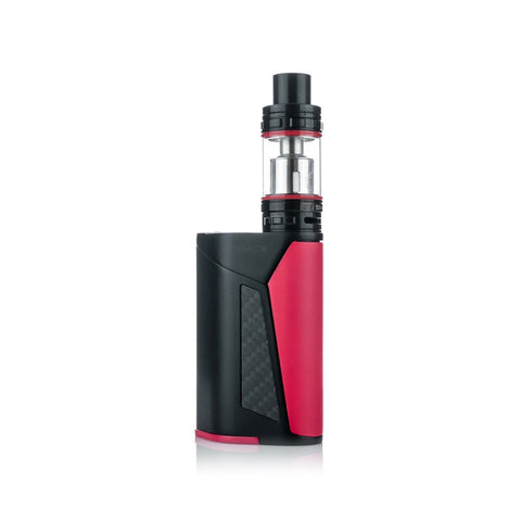 SMOK GX350 quad battery kit, red. The Village Vaporette.