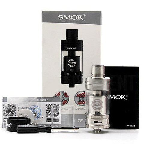 Smok TF-RTA G4 Edition, packaging. The Village Vaporette.