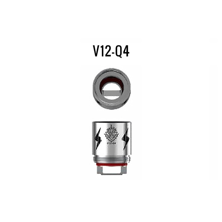 Smok TFV12 coils, Q4. The Village Vaporette.