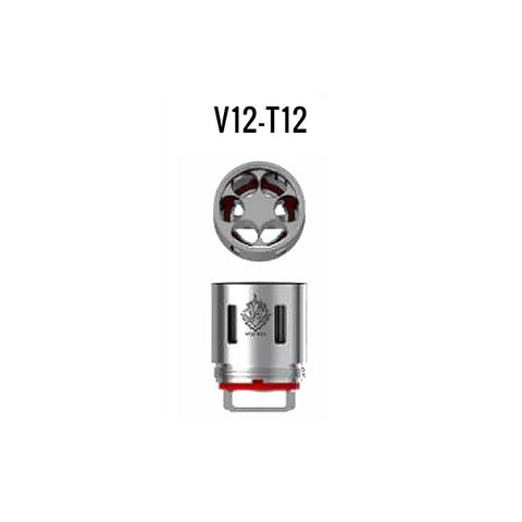 Smok TFV12 coils T12. The Village Vaporette.