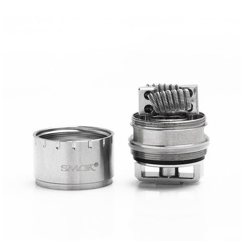 Smok TFV12 Rebuildable section. The Village Vaporette.