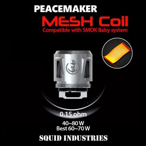 Peacemaker Replacement Coils, Mesh. The Village Vaporette.