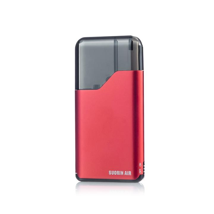 Suorin AIR Pod System, red. The Village Vaporette.