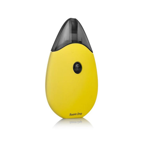 Suorin DROP Pod System, yellow. The Village Vaporette.