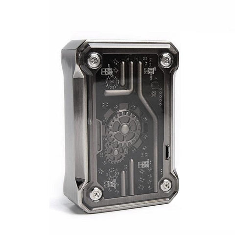 Tesla PUNK 220W Box Mod, black. The Village Vaporette.