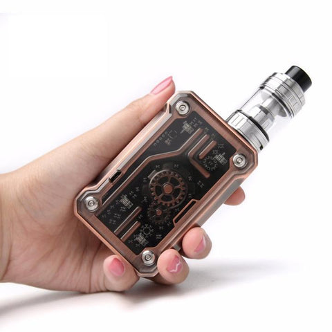 Tesla PUNK 220W Box Mod, size. The Village Vaporette.