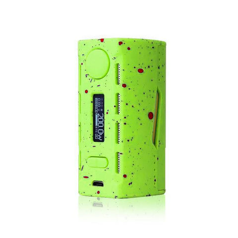 Teslacigs WYE 200W Mod, green. The Village Vaporette.