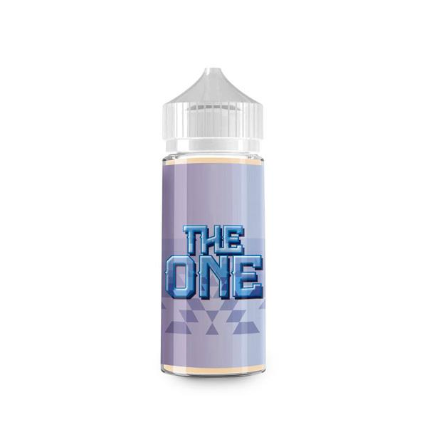 "The One ""Blueberry"", 100mL. The Village Vaporette, Cambridge, Ontario, Canada, vape juice, squeeze bottle, gorilla bottle,"