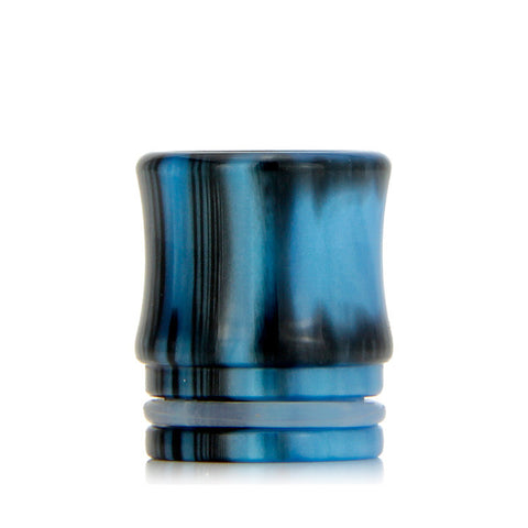 Drip Tips for TFV8 Cloud Beast and Big Baby Tanks, blue/black. The Village Vaporette.