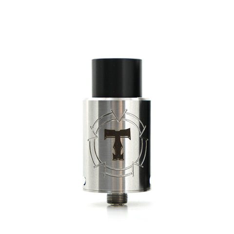 Tobeco Stargate RDA, stainless. The Village Vaporette.