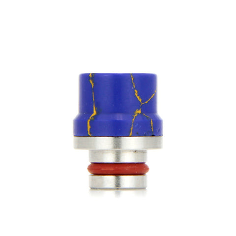 "Ceramic 510 drip tips, ""Top Hat"", Blue. The Village Vaporette."
