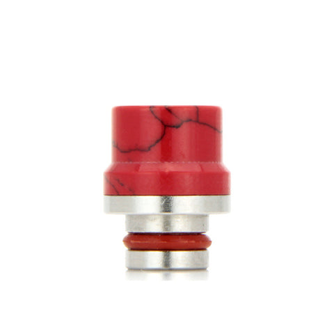 "Ceramic 510 drip tips, ""Top Hat"", Red. The Village Vaporette."