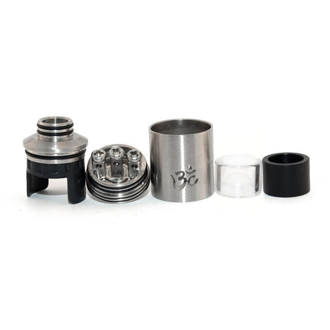 Turbo RDA version 2, parts. The Village Vaporette.