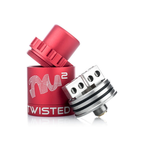 Twisted Mess V2 Lite RDA, deck. The Village Vaporette.