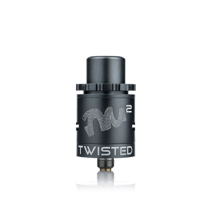 Twisted Mess V2 Lite RDA, grey. The Village Vaporette.
