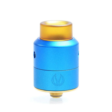 Vandy Vape Pulse BF 22mm RDA, blue. The Village Vaporette.