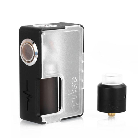 Vandy Vape Pulse BF Squonk Starter Kit Special Edition with RDA, frosted white. The Village Vaporette.