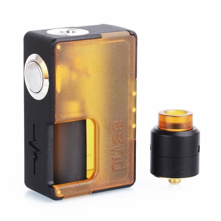 Vandy Vape Pulse BF Squonk Starter Kit Special Edition with RDA, apart. The Village Vaporette.