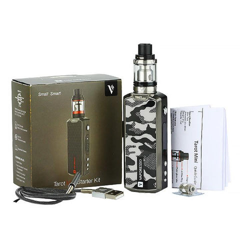 Vaporesso Tarot Mini 80W Kit. Packaging. The Village Vaporette.