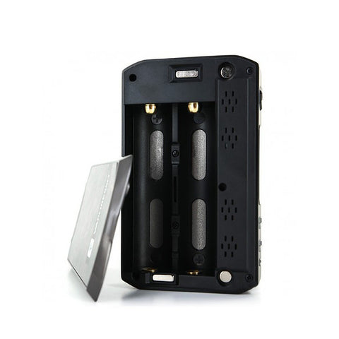Vaporesso Tarot Pro 160W Box Mod, battery bay. The Village Vaporette.