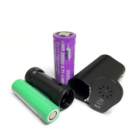 Vapor Flask Stout by Vape Forward, batteries. The Village Vaporette.