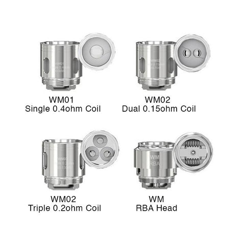 Wismec Gnome WM Coils. The Village Vaporette.