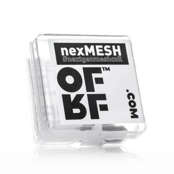 Wotofo OFRF NexMesh Replacement Coils, 10 pack. The Village Vaporette, Cambridge, Ontario, Canada, mesh coil, mesh, rebuildable, rebuildable vape, atomizer,
