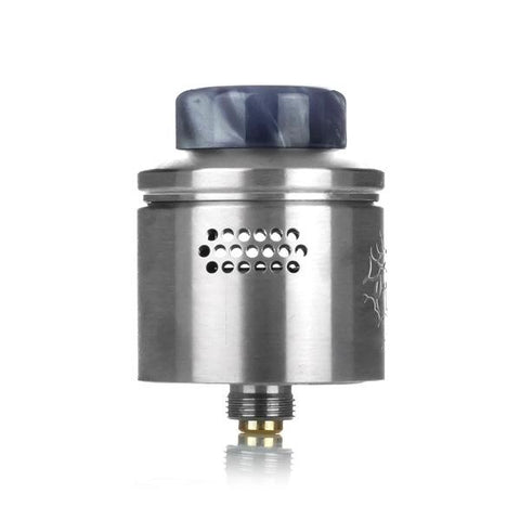 Wotofo Profile RDA, airflow. The Village Vaporette, Cambridge, Ontario, Canada, Mr. Just Right, collaboration, rebuildable atomizer, dripper, dripping vape, resin, wide bore,