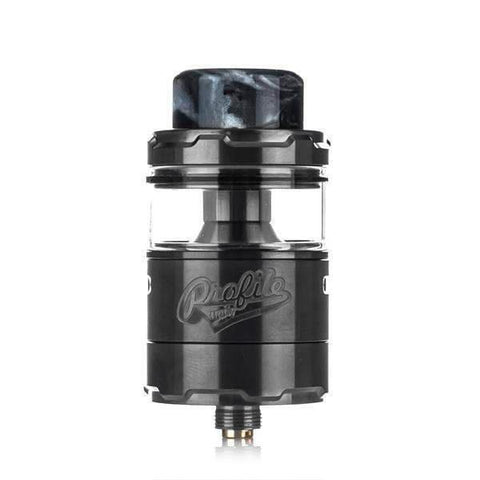 Wotofo Profile Unity RTA, Gun metal. The Village Vaporette, Cambridge, Ontario, Canada, mr. just right, the vapor chronicles, mesh, mesh coils, clamp style, mesh strips,