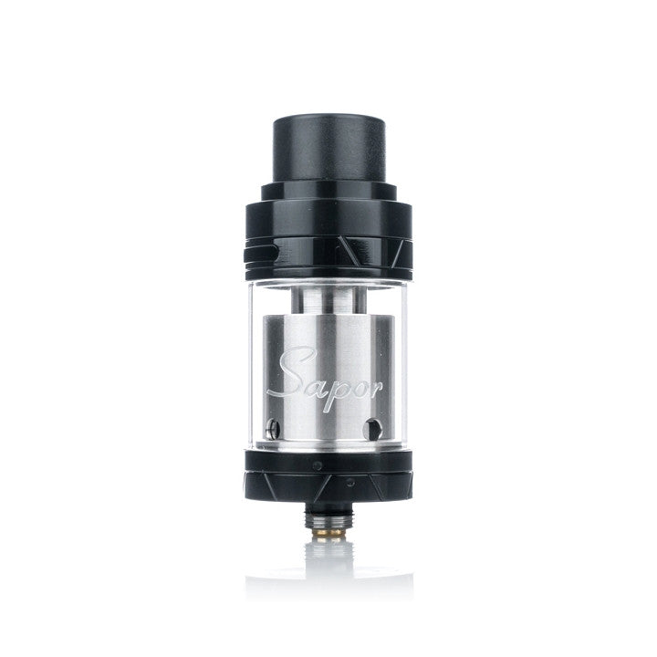 Wotofo Sapor RTA, black. The Village Vaporette.