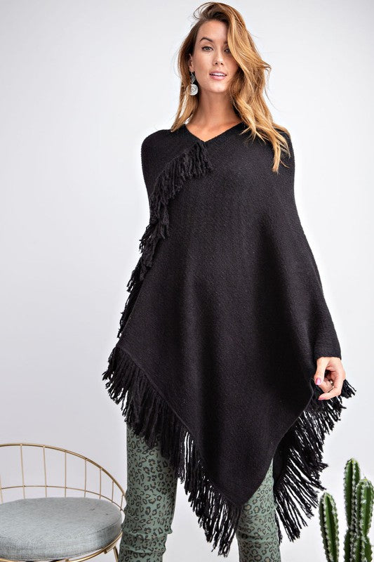 Ultra Soft Sweater Poncho