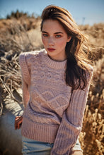 Load image into Gallery viewer, Chunky Cable Knit Sweater