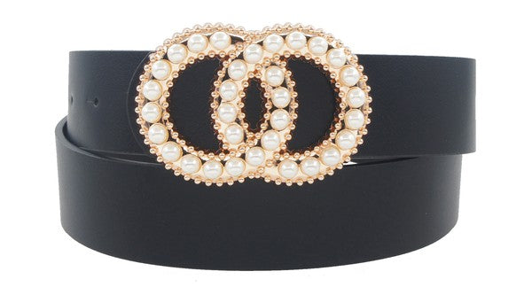 Double Circle Pearl Belt