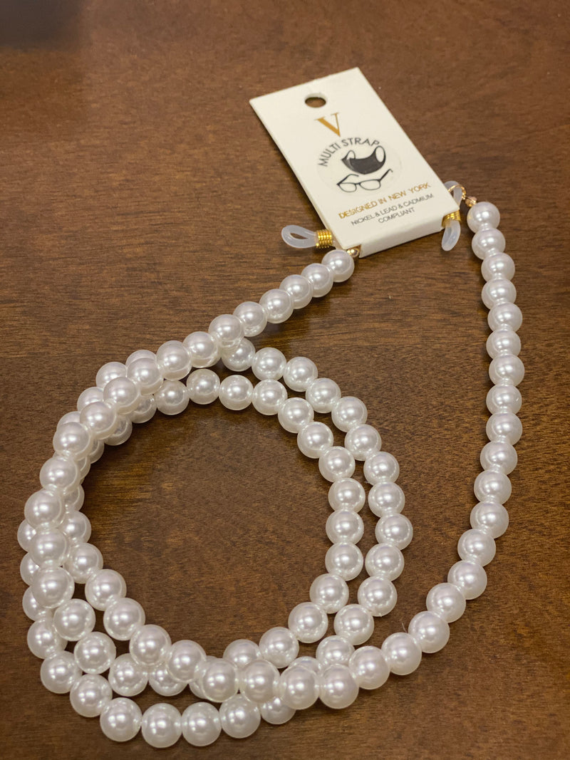 Pearl Mask Chain 9mm