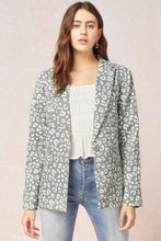 Load image into Gallery viewer, Leopard Print Blazer