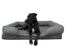 Load image into Gallery viewer, Extra Large Imperial Dog Bed - Grey