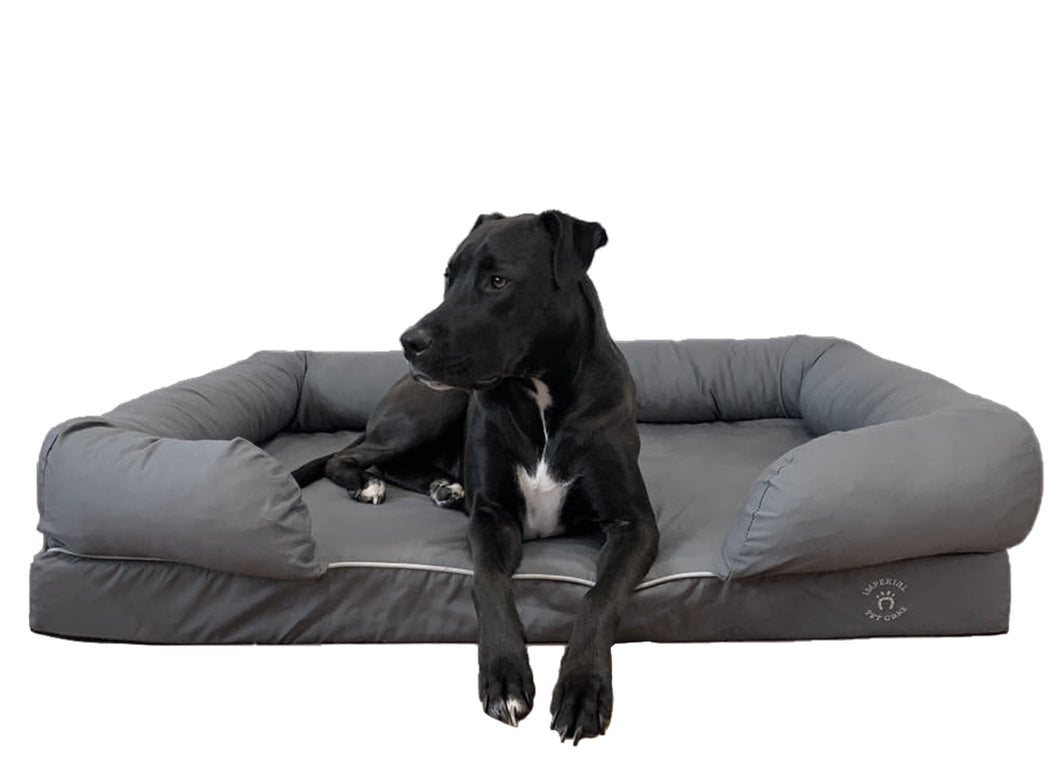 Extra Large Imperial Dog Bed - Grey