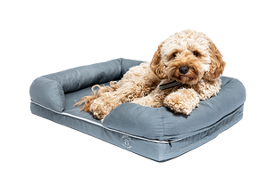 Small Imperial Dog Bed - Grey