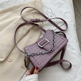 Luxury Design Crocodile Pattern Small PU Leather