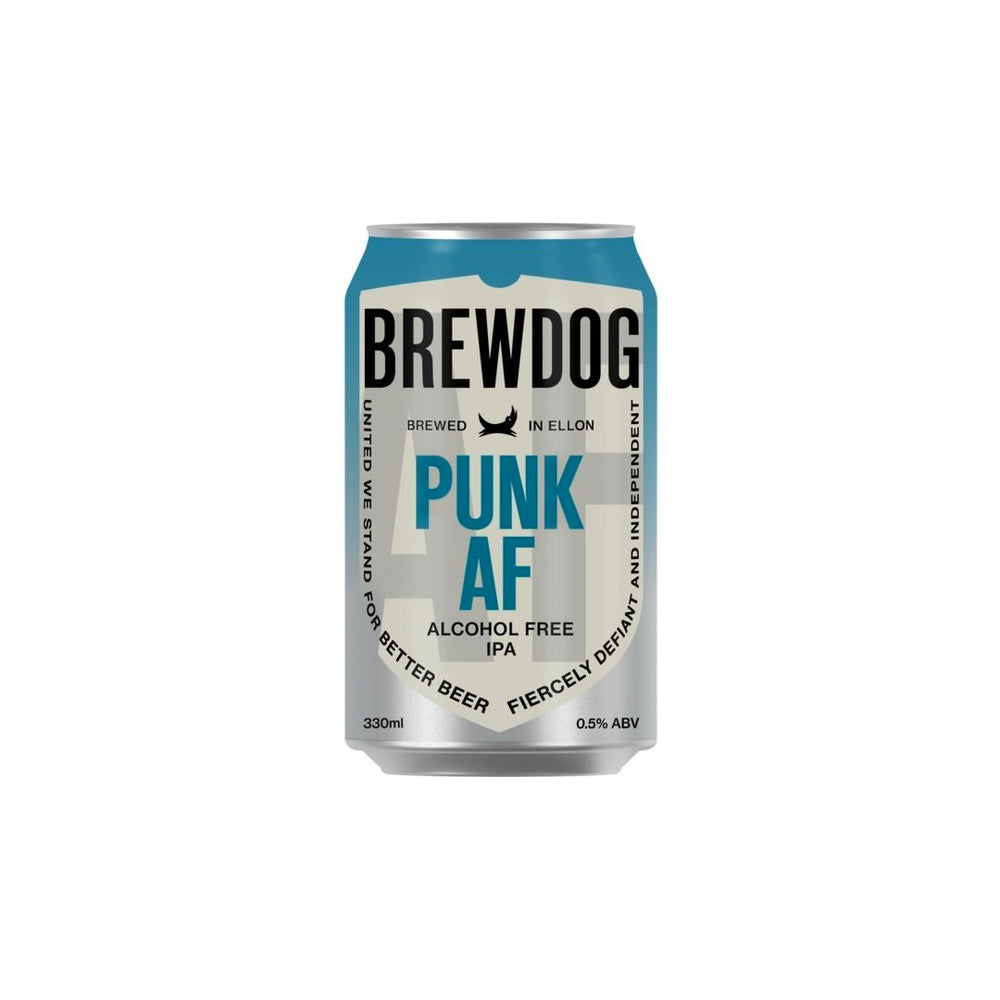 Punk Alcohol Free, Can, 330ml x 4, Brewdog