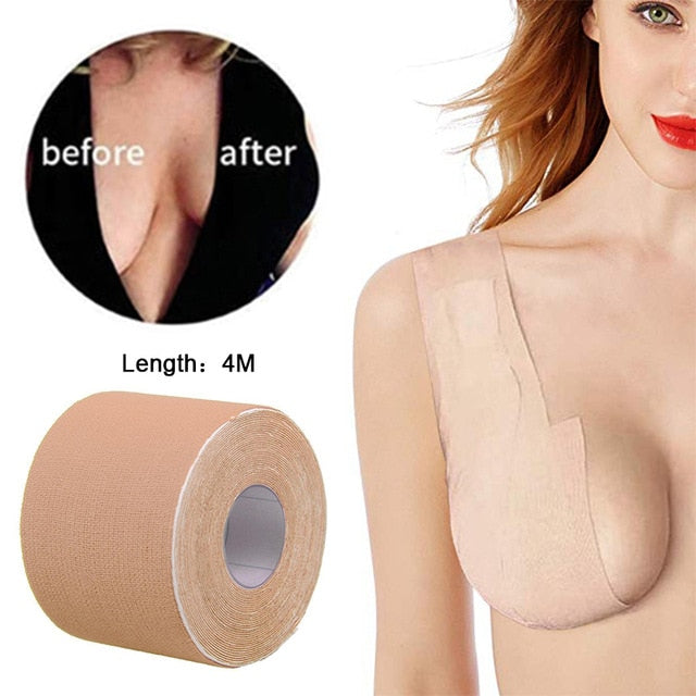 Nipple Covers Push Up Bra Invisible Adhesive Lifting Tape