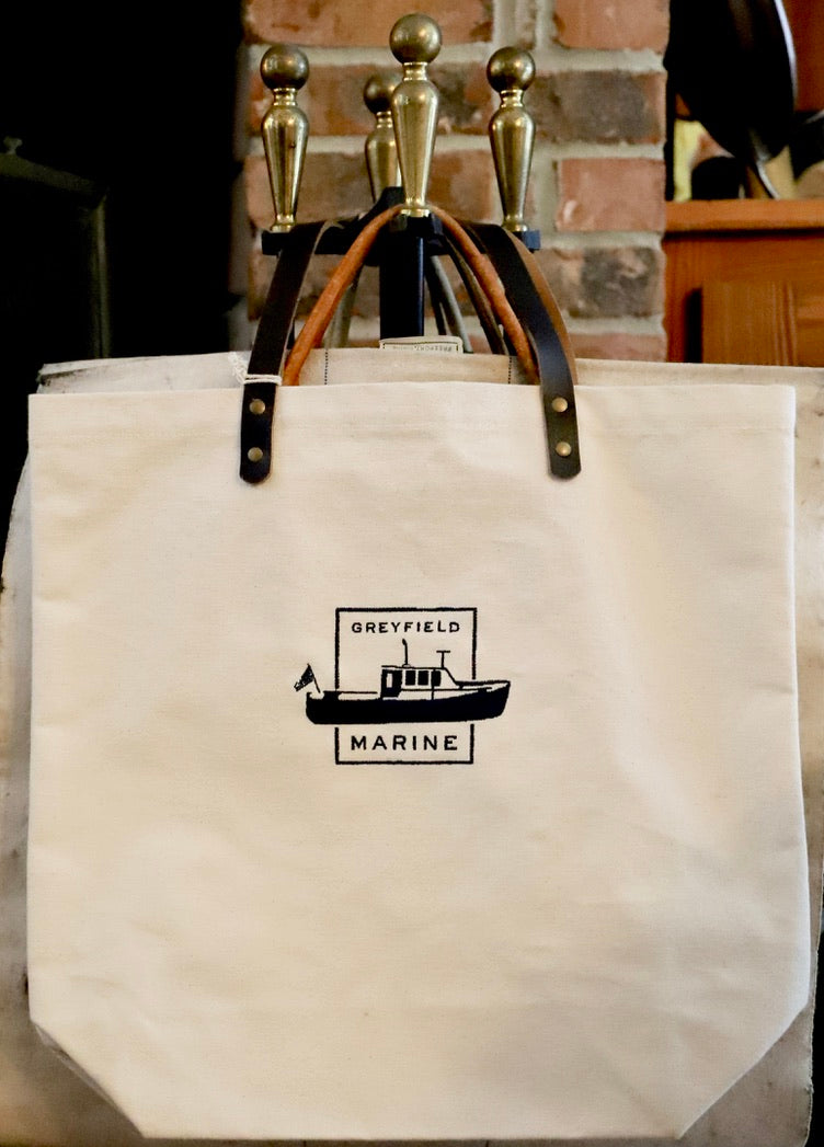 Greyfield Marine Canvas Tote