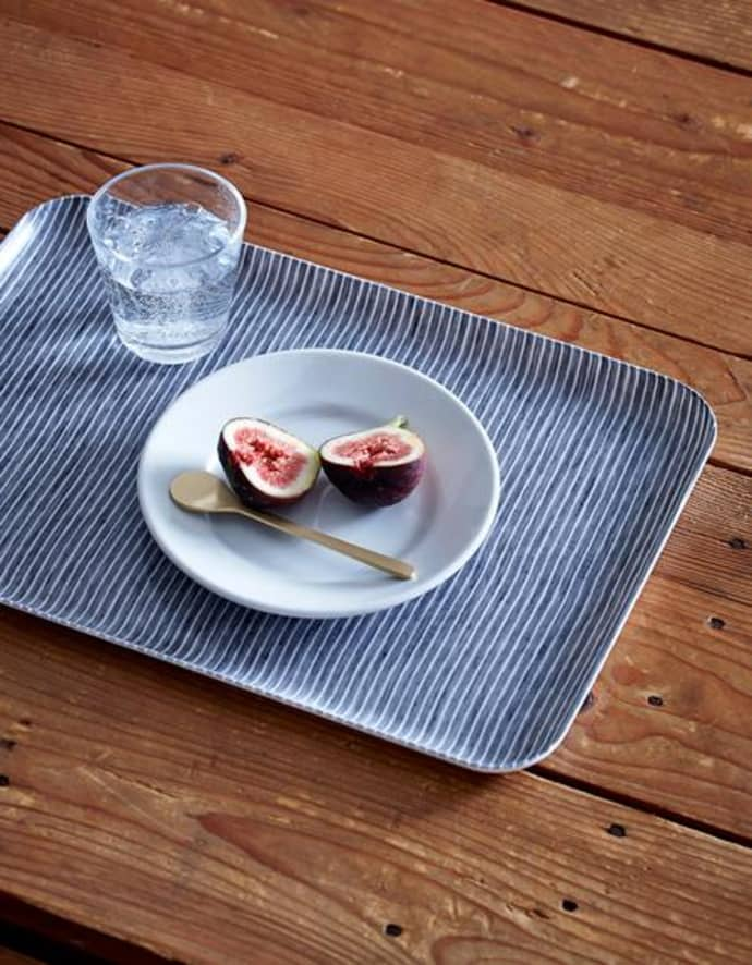 Linen Coated Tray - Large