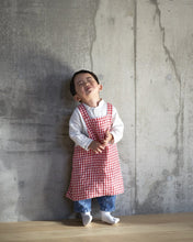 Load image into Gallery viewer, Children's Red Checkered Apron