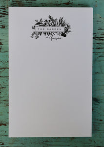 Greyfield Garden Notepad 5.5x8.5