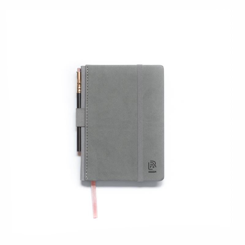 Small Slate Notebook - Grey- Dot Grid