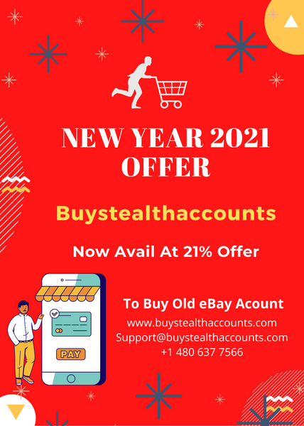Buystealthaccounts New Year Sale 2021 On Old eBay Account Packages